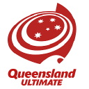 Queensland Ultimate Disc Association logo