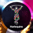 Harlequins Rugby Union logo icon