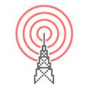 Radio Locator logo icon