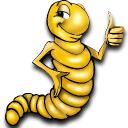 Rainbow Mealworms logo icon