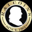 R & I Coins Logo