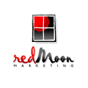 Red Moon logo icon