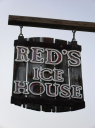 Red's Ice House logo