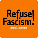 Refuse Fascism logo icon