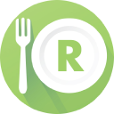 Restaurant logo icon