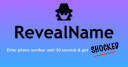 Reveal Name logo icon