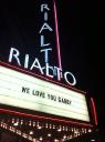 Rialto Theatre logo icon
