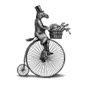 The Riding House Café logo icon