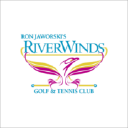 Ron Jaworskis River Winds Golf & Tennis logo icon
