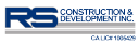 Rs Construction And Development Logo