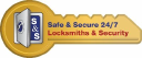 Safe and Secure 24/7 Locksmiths & Security logo