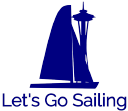 Let's Go Sailing logo icon