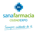 Sanafarmacia Ciudad Expo 24 H logo