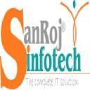 SANROJ Infotech logo