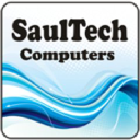 SaulTech Computers logo