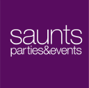 Saunts Parties and Events logo