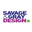 Savage and Gray Design logo