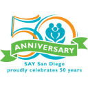 SAY San Diego (Social Advocates for Youth) logo