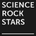 Science Rockstars, data driven. human obsessed. logo