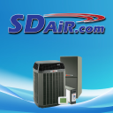 SDair Heating and Air Conditioning logo