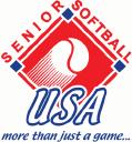 Senior Softball logo icon