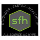 SFH - Stronger Faster Healthier logo