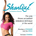 SharQui - The bellydance workout logo