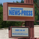 Shoshone News Press Terms logo