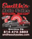 Smith's Auto Sales