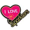 I Love Sparklers Logo