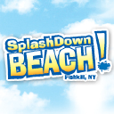 Splash Down Beach logo icon