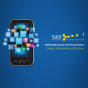 S&S Communications logo