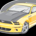 Mustang logo icon