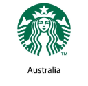 Starbucks Coffee Australia logo icon