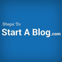 Steps To Start A Blog logo icon
