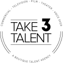 Take 3 Talent logo icon