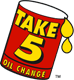 Take 5 Oil Change logo icon