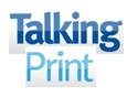 Talking Print logo icon
