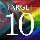 Target 10 logo icon