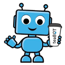 Tea Bot logo icon