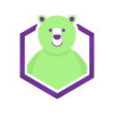 Tech Bear logo icon