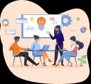 Tech Force Infotech logo icon