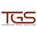 Technology Group Solutions logo icon