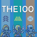 The 100 logo icon