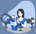 The Digital Navigator logo icon