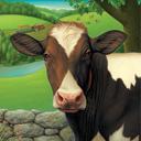 The Farmer's Cow logo icon