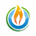 The Flaming Candle logo icon