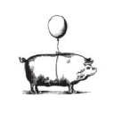 The Flying Pig logo icon