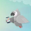 The Grey Parrots logo