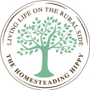 The Homesteading Hippy logo icon